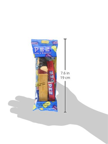 Pez Dc Comics Justice League Assortment Candy Dispensers, 0.58 Ounce (Pack of 12)