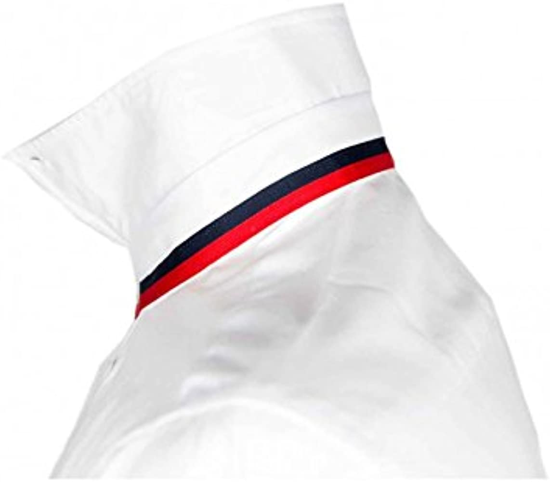 Camisa Oxford Lisa Blanca Hombre - Color - Blanco, Talla - XXL: Amazon.es: Ropa y accesorios