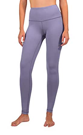 90 Degree by Reflex - High Waist Power Flex Legging - Tummy Control - Alpine Iris - XS