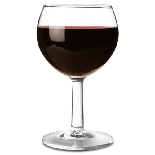 Ballon Wine Glasses 6.7oz Lined and CE stamped at 125ml - Set of 12 | Ballon Paris Wine Glasses, Red Wine Glasses, White Wine Glasses from Arcoroc Glassware Arc International
