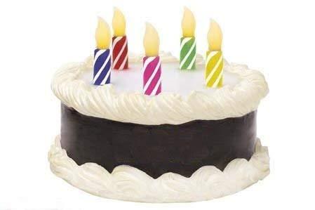 Amazon.com: Funciona con pilas Musical Tarta de cumpleaños ...