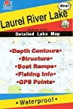 Laurel River Lake Fishing Map (Kentucky Fishing Series, L111)