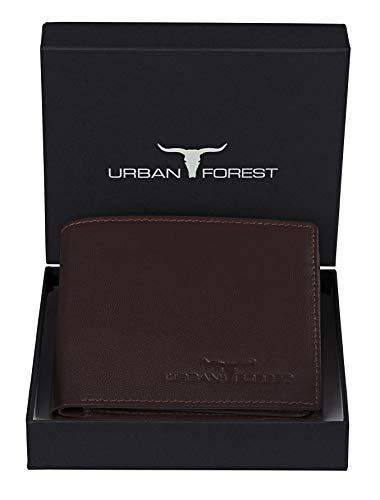 URBAN FOREST Leather Men's Wallet (UBF101BRN1005_Brown)