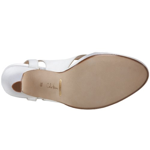 Cole Haan Donna Ceci Air Mid Sandal Satin Bianco