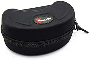 SUNREEK Black Ski Goggle Hard Protective Carrying Case Sunglasses Case Protection Cover