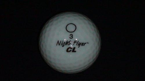 White LED Golf Ball