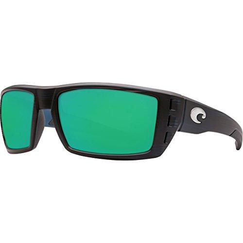 Mirror Mar Matte Black Rafael Green Del Sunglasses Costa Teak wZnxz58qR6