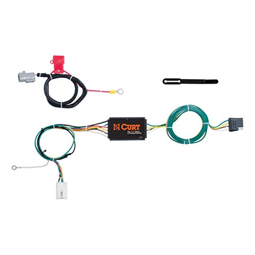 (CURT 56296 Vehicle-Side Custom 4-Pin Trailer Wiring Harness for Select Mitsubishi Outlander)