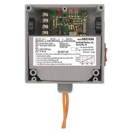 Functional Devices (RIB) RIBX24SBA Enclosed Internal AC Sensor, Adjustable + Relay 20Amp SPST + Override 24Vac/dc