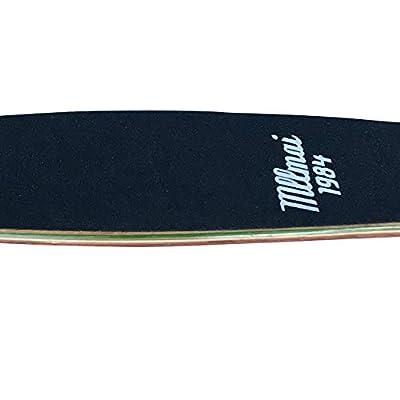 LMAI 22'' Bamboo Cruiser Maple Wood Skateboard (Deck) : Sports & Outdoors