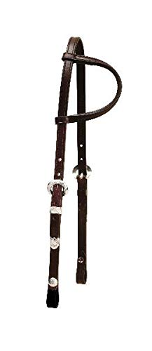 - Tory Touch of Silver One Ear Headstall Dark Oil