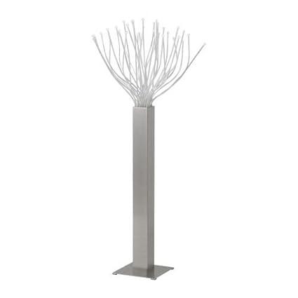 IKEA STRANNE - Lámpara de pie LED, Acero: Amazon.es: Hogar