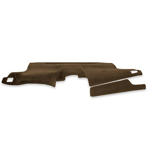 Coverking Custom Fit Dashcovers for Select Subaru Legacy and Outback Sedan Models - Velour (Tan)