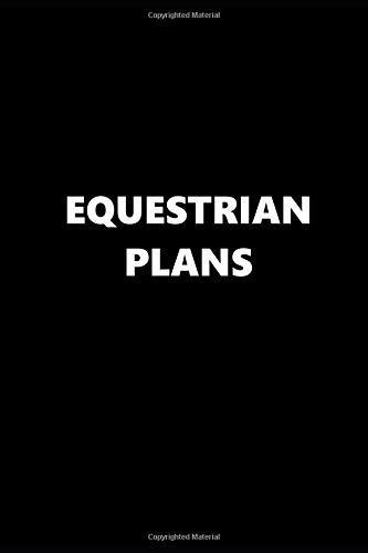 2019 Weekly Planner Sports Theme Equestrian Plans Black White 134 Pages: 2019 Planners Calendars Organizers Datebooks Appointment Books Agendas
