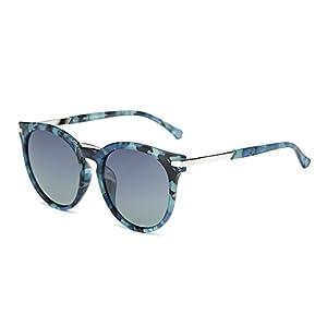 DONNA Popular Oversized Round Sunglasses Hipster Big Circle Shades Polarized Anti Glare D29