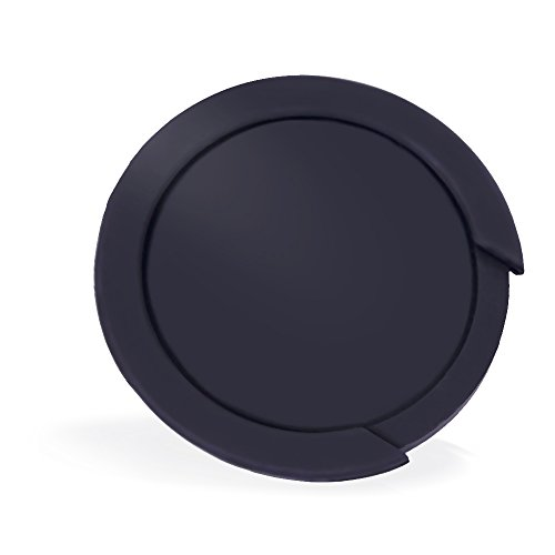 Guitar Soundhole Cover | Acoustic Guitar Sound Hole Cover Screeching Halt Feedback Buster Prevention - Silicone Material (Black-100mm)