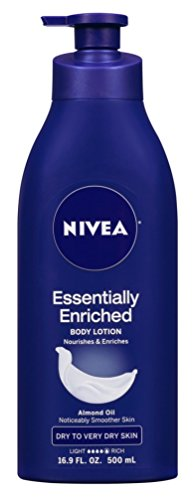 Price comparison product image Nivea Lotion Essentially Enriched 16.9 Ounce Pump (Very Dry Skin) (500ml) (3 Pack)
