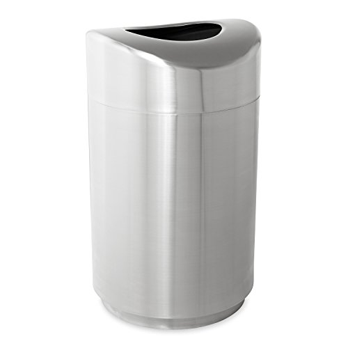 Rubbermaid Commercial Executive Series Eclipse Open Top Trash - 30 Gallon Trash Can Decorative