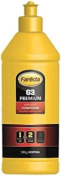 Farecla G3 Premium 500 G Premium Schneiden Finish Schleifmittel Flüssige Verbindung G3p506 Auto