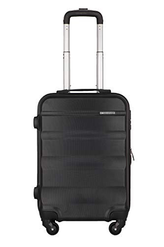 Cross Torpedo Polycarbonate 57 cms Black Hardsided Cabin Luggage (AC2992264_4-1)