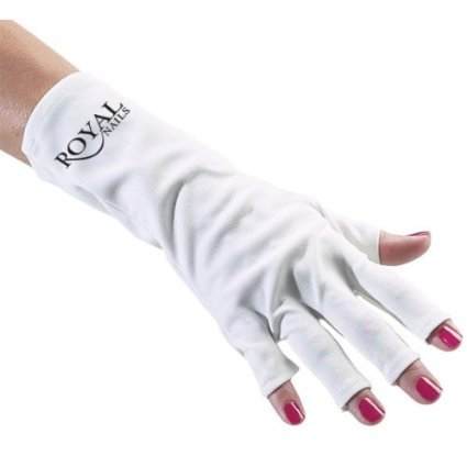 GLOVES FOR UV LIGHT/LAMP NAIL DRYER ONLY NAIL EXPOSED ()