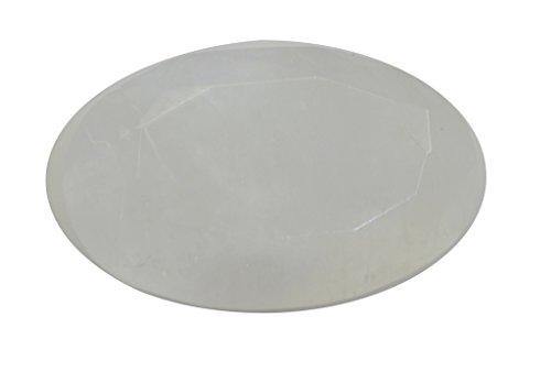 arc-en-pierre de lune pierre lâche ovale à facettes 1 pc 13.5x21.5 mm Strmo-1092
