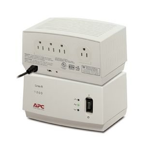 """Apc, Line-R 1200Va Automatic Voltage Regulator Ac 120 V 1200 Va 4 Output Connector(S) """"Product Category: Ups/Power Devices/Line Conditioners"""""""