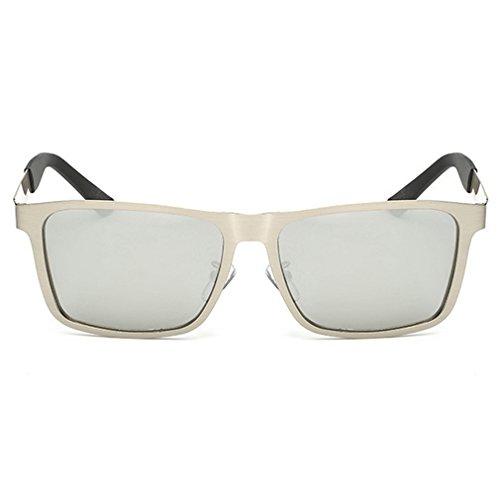 A-Royal Mens Fashion Classic Metal Frame Polarized Lens Driving - Sensitive Sunglasses Eyes Dark Very