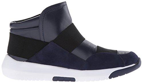 Shoe Walking Neya West Nine Leather Navy Women's qwrEX0In0