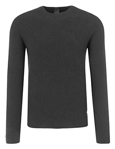 Boss Cotton Sweater - Hugo Boss Men's Erec Slim Fit Wool-Cotton Sweater (S)