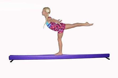 Balance Beam Purple 8 Foot Long 6.5 High