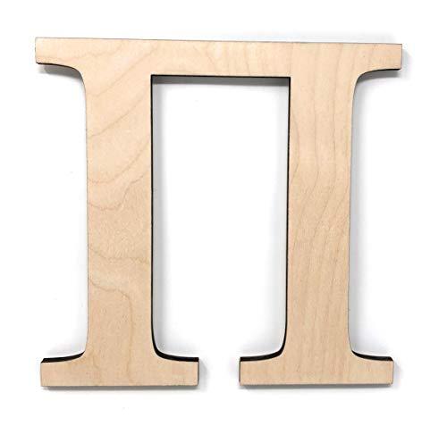 Pi Greek Letter - Gocutouts 12