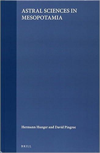 Handbook of Oriental Studies. Section 1 the Near and Middle East, Astral Sciences in Mesopotamia (Handbuch der Orientalistik. Erste Abteilung, der Nahe Und Mi)