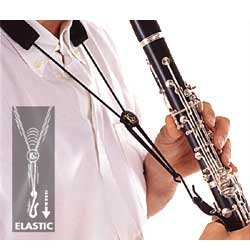 BG Elastic Clarinet Support Strap