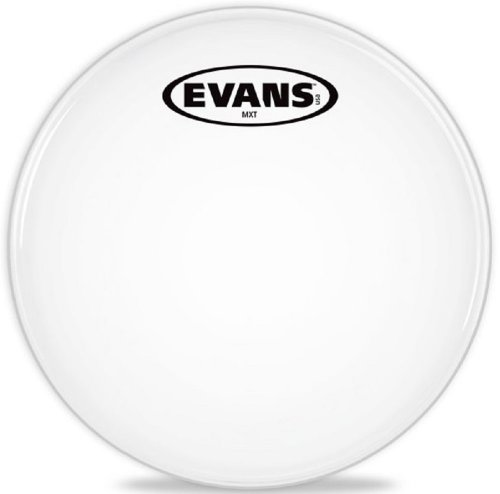 (Evans MX White Marching Tenor Drumhead, 10 Inch)