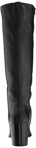 Frye Womens Julia Tall Inside Zip Slouch Boot Nero