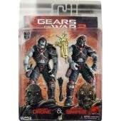 Gears of War - Locust Drone and Locust Sniper 7'' Action figure 2 Pack by NECA