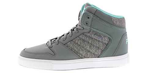 Filas Beste Ooit 3 Textiel, Door De Mens Gemaakte, Rubberen Sneakers Grijs