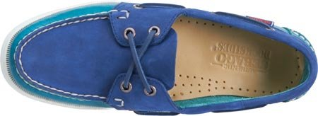 Boat Nubuck Teal Sebago Spinnaker Leather Men's Shoe Navy 8avOqw