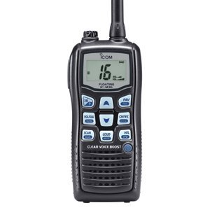 Icom m36 submersible handheld vhf radio over $150