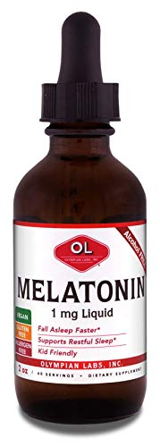 Olympian Labs Liquid Melatonin, 2 Ounce