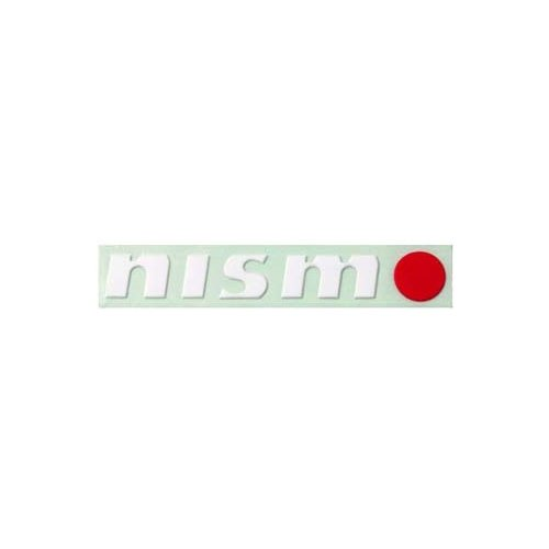 Genuine Nissan 999G1-SR003WT 'White Letters with Red O' NISMO Sticker