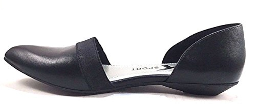 Anne Klein Womens Sifa Pointed Toe D-Orsay Pumps, Black, Size 7.0