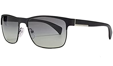 41e9ea2ee2 Image Unavailable. Image not available for. Color  Prada Sunglasses -  PR51OS   Frame  Matte Black Lens  Grey Gradient-PR51OSFAD3M1