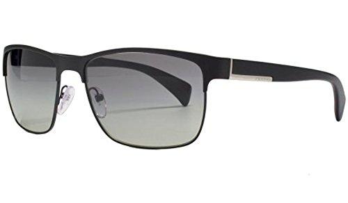 Amazon.com: Prada – Gafas de sol, Color pr51os/marco: Negro ...