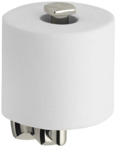 KOHLER K-16255-SN Margaux Toilet Tissue Holder, Vibrant Polished Nickel by Kohler (Image #3)