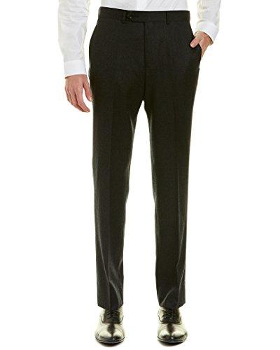 Brooks Brothers Mens Regent Fit Flannel Wool Trouser, 33/32