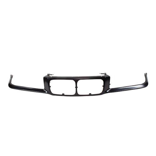 CarPartsDepot, Grille Molding Panel Primed Steel w/o Headlamp Washer Nose Holes, 402-12171 BM1200104 41331977940