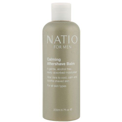 NATIO FOR MEN CALMING AFTERSHAVE BALM (200ML)