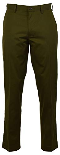 Polo Ralph Lauren New Chino Classic Fit Flat Front Pants Green (34x32)
